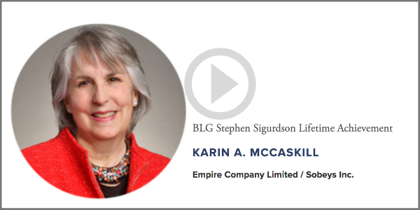 Karin A. McCaskill Lifetime Achievement Recipient CGSA