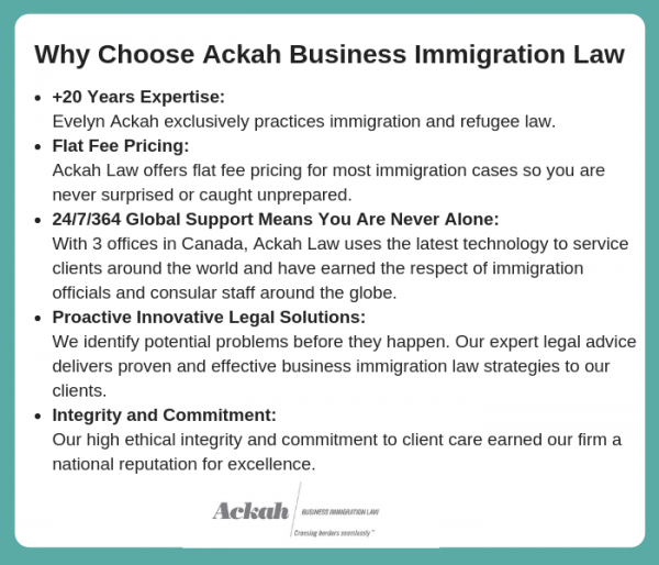 Why Choose Ackah Business Immigration Law