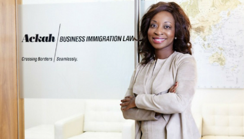 Evelyn Ackah Founder Ackah Immigration Law