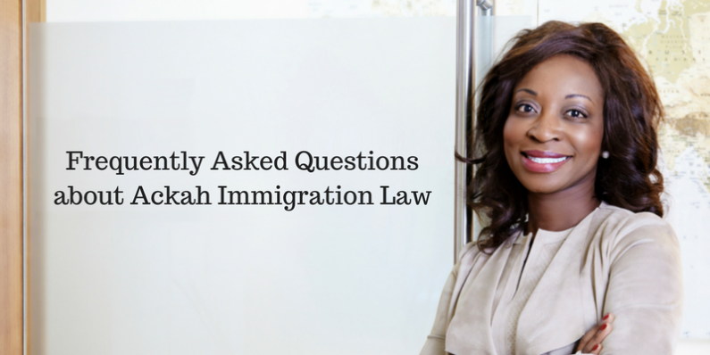 Frequently Asked Questions About Immigration Law Evelyn Ackah Calgary Immigration Lawyer Ackah Business Immigration Law