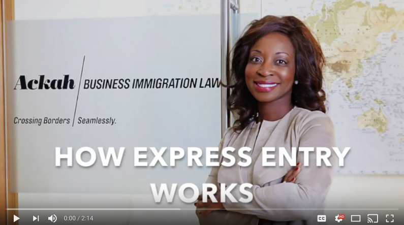 How Express Entry Works Evelyn Ackah Immigration Lawyer