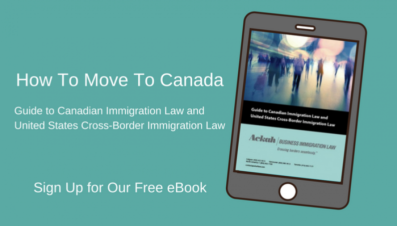 How To Move To Canada Guide to Canadian Immigration Law and United States Cross Border Immigration Law Free eBook Evelyn Ackah Canadian Immigration Lawyer