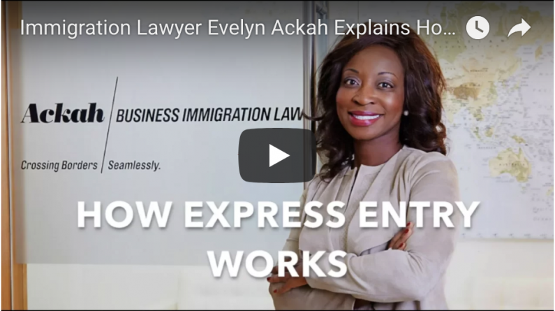 Immigration Lawyer Evelyn Ackah Explains How Canada Express Entry Works