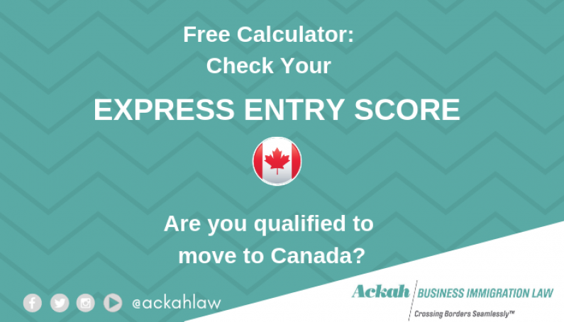 Free Canada Express Entry Score Calculator