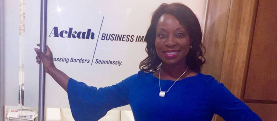 Huffington Post Interviews Evelyn Ackah on New International Student Travel Restrictions